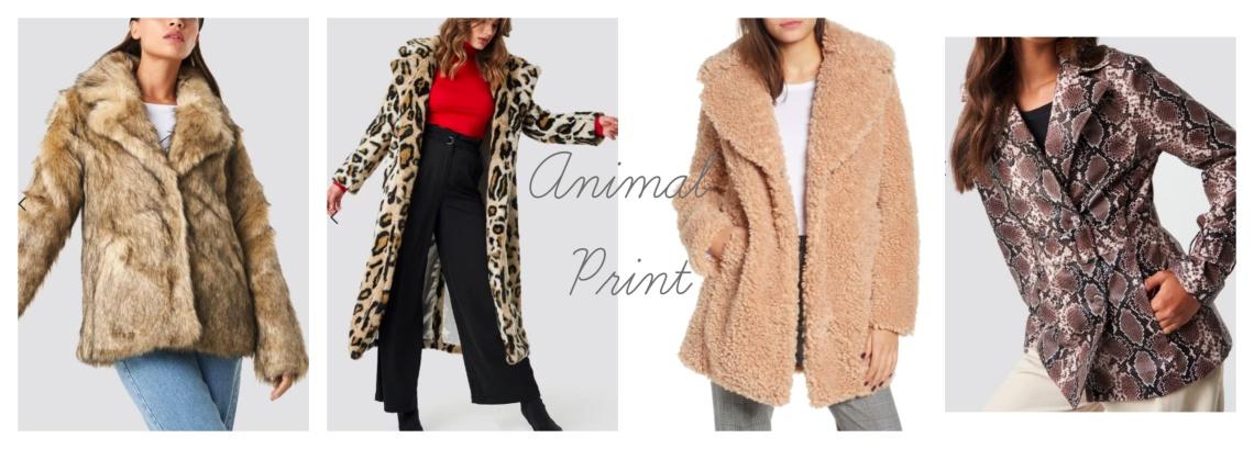 W jackets - animal