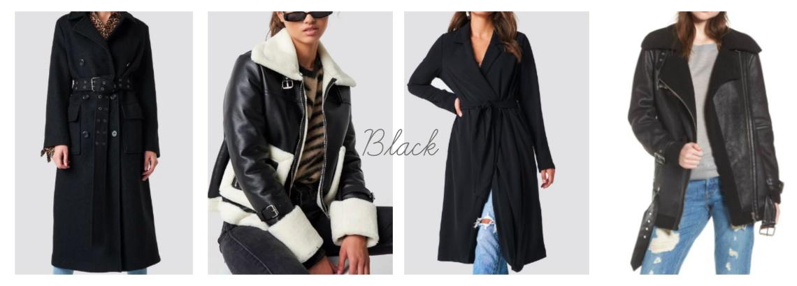 W jackets - blk
