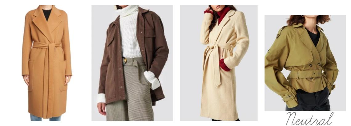 W jackets - neutral